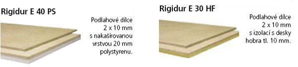 Podlaha rigidur