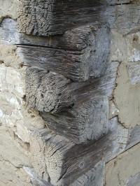 Požární odolnost dřevěných trámů