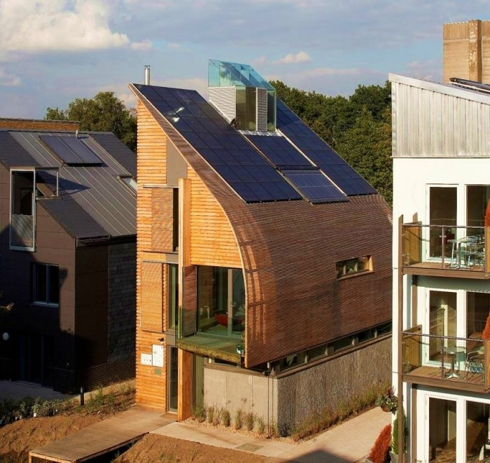 Passive Homes In The Uk By Baufritz: Zero-carbon Barratt House