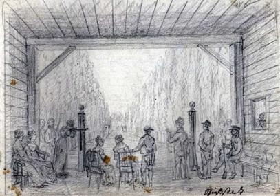 Střelnice – kolem 1800, Paulina ze Schwarzenberku