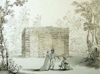 Domek zhranice dříví – 1800, Josef Fischer
