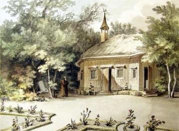 Poustevna – 1800, Josef Fischer