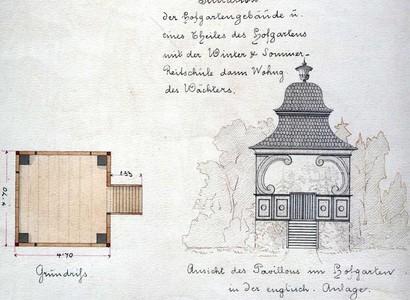 Hudební pavilón – pohled – 1879, Jan Štěrbík