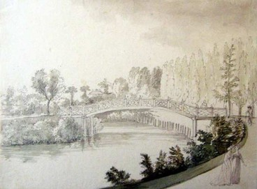 Velký most uruin – 1800, Josef Fischer