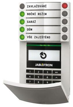 mobilní aplikace MyJABLOTRON Jablotron 100 alarm