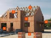Měření vzduchotěsnosti obálky domu zcihel HELUZ pomocí Blower door testu