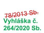 Vyšla nová vyhláška č. 264/2020 Sb. oenergetické náročnosti budov
