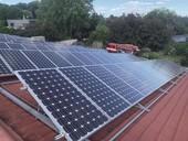 Fotovoltaické systémy při požáru zpohledu jednotek požární ochrany