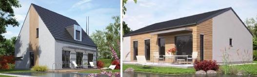 Haas fertigbau rodinný dům alto a rodinný dům linea