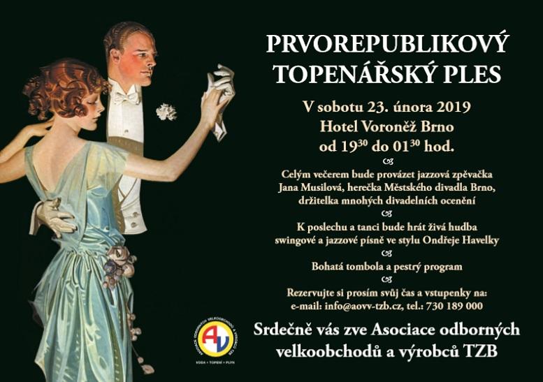 bd7409e28c Prvorepublikový topenářský ples v Brně - TZB-info
