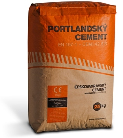 Portlandský cement cena
